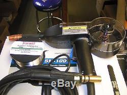 Coplay-Norstar Mig spool gun SM-100 fits Norstar and Miller welders