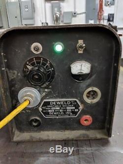 DEWELD 549 Capacitor Discharge Stud Welder stud up to #10 DIA INSULATION PIN GUN