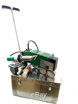 DHL free shipping PVC TPO roof hot air welding machine welder +free hot air gun