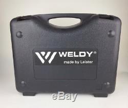 EU STOCK Weldy Professional 1600W Hot Blast Torch Overlap Air Welding Gun Welder