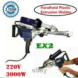 EX2 Handheld Plastic Extrusion Welding Machine Extruder Welder Gun Booster