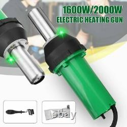 Electric Hot Air Torch Plastic Welding Gun For Plastic Heating Core Flat Nose