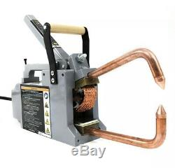 Electric Spot Welder 1/8 Single Phase Portable Handheld Welding tip Gun 120 V