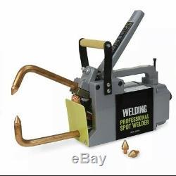 Electric Spot Welder 1/8 Single Phase Portable Handheld Welding tip Gun 240 V