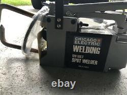 Electric Spot Welder Single Phase Portable Handheld Welding tip Gun 120 V