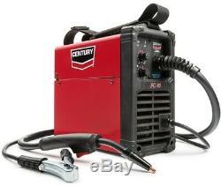 Electric Welding Machine 90 Amp FC90 Flux Core Wire Feed Welder and Gun, 120V