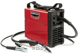 Electric Welding Machine 90 Amp FC90 Flux Core Wire Feed Welder and Gun, 120V