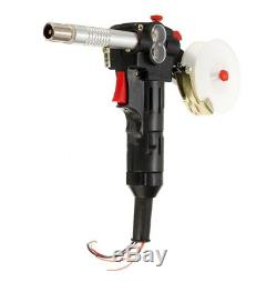 Euro MIG Welder Spool Gun Wire Feed Aluminum Welder Toothed 16Ft(5M)