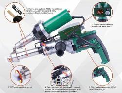 FREE SHIPPING LESITE Handheld Plastic Welding Extruder Extrusion Gun Welder 220V