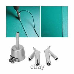 Go2Home 1600W Plastic Welder Hot Air Gun Torch Welding Heat Gun Handhold Rod
