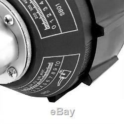 Go2Home 1600W Plastic Welder Hot Air Gun Torch Welding Heat Gun Handhold Rod wit