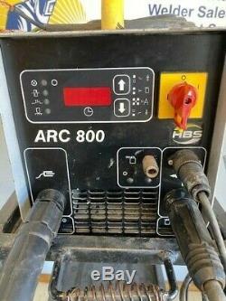 HBS ARC 800 230/460V Stud Welding Stud Welder #4 to 1/2 with A12 30' Gun