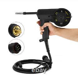 HITBOX 110/220V MIG Welder With Spool Gun Weld Aluminum MIG TIG ARC Gas/Gasless