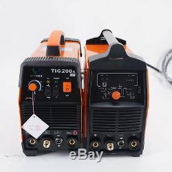 HITBOX 220V TIG 200A AC Digital TIG Welding Gun ARC TIG Welding Machine Tools