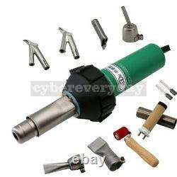 HLT-D16 1600W Plastic Welder Gun Set Welding Kit For PVC Coiled Material PEPP