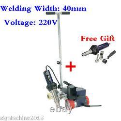 HOT! AC220V Hot Air Roofer Banner Welder Machine 40mm Welding Width+Free GUN