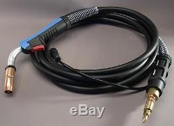 HTP Miller 169596 250 Amp Mig Welding Gun Torch Stinger 12 ft M25 Welder Parts
