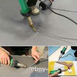 HUKOER 1600W Handheld Plastic Welder, Hot Air Gun Vinyl Welding Heat Gun