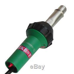 Handheld Hot Air Gun Plastic Welder With Nozzles Rollers To Welding Plastic Tank