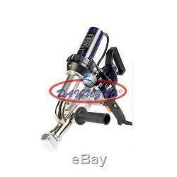 Handheld Plastic Extrusion Welding Machine Extruder Welder Gun Booster EX2 220V