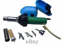 Heat Gun Hot Air Gun Plastic Welder Gun Flooring Welding Tool With Knee pads