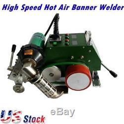 High Speed Hot Air Banner Welder Gun, 30mm Welding Width AC110V CE US Stock