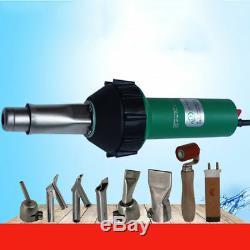 Hot Air 1600W Plastic Welding Gun Welder Torch Pistol 110V 600 Industrial Tool
