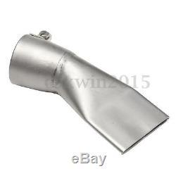 Hot Air Gun 1600W Plastic Welding Torch PE/PVC Welder Pistol & 2 Nozzle & Roller
