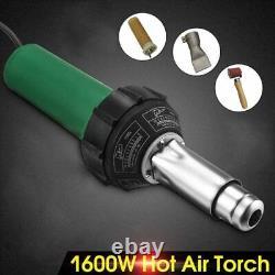 Hot Air Gun Welding Torch 1600W Heat Gun Plastic Welder Roofing Welder Kits