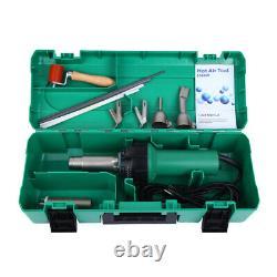 Hot Air Torch Plastic Welding Gun Welder Pistol Welding Tool Kit with 4 Nozzle