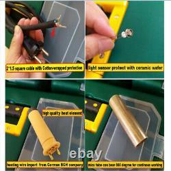 Hot Air Welding Gun For HDPE Geomembrane Welder For TPO Roof &Flat Weld Nozzle