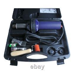 Hot Blast Torch Overlap Welding Gun Welder Pistol Tool Kit 110V 1600W