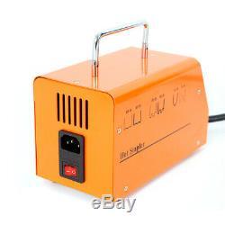 Hot Stapler Plastic Repair Kit Car Bumper Body Welder Welding Gun 100 Staples