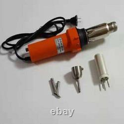 Hot air welder, hot air welding, plastic welding gun