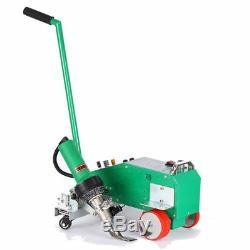 Intelligent PVC Flex Banner Seam Welding Machine with Leister Heat gun 110V