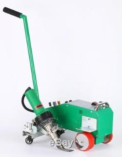 Intelligent PVC PE Flex Banner Seam Welder with 1600W Leister Heat Gun For 110V