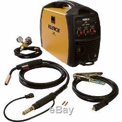 Klutch Reconditioned MIG 140SI Inverter-Powered MIG Welder-Spool Gun Ready
