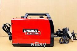 LINCOLN ELECTRIC 125HD Weld-Pak 125 Amp Flux-Cored Welder with Magnum 100L Gun