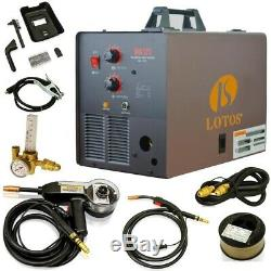 LOTOS Wire Feed Welder Package 175 Amp Auto Dual-Frequency Flux-Core Spool Gun