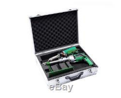 LST600A Hand Extruder Welding Gun Hot Air Plastic Extrusion Welder Machine 220V