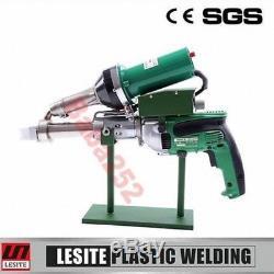 Lesite Handeld Plastic HDPE Extruder Extrusion welding machine welder Gun 220V
