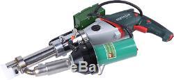 Lesite New LST610C HDPE LDPE PP Plastic Extrusion Welding Machine Extruder Gun