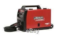 Lincoln 140HD WeldPak 150 Amp MIG Welder With Magnum 100L Gun (NEW!)