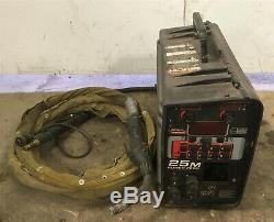 Lincoln 25m Power Feed MIG Welder Wire Suitcase Feeder with Python Push-Pull Gun