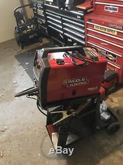 Lincoln Electric 140 Pro-Mig Welder MiG 120 volt with Magnum 100L Gun