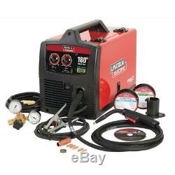 Lincoln Electric 180 Amp Weld-Pak 180 HD MIG Wire Feed Welder with Magnum 100L Gun