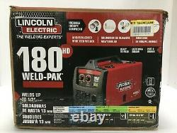 Lincoln Electric 180HD Weld-Pak Wire Feed Welder 230V with Magnum 100L Gun