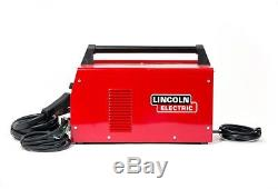 Lincoln Electric Handy MIG Welder Gas Wire Feed 115 volt 20 amp Outlet 10ft Gun