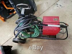 Lincoln Electric LN-7 Welder With Lincoln Magnum 400 MIG Gun ADDED WELDING WIRE