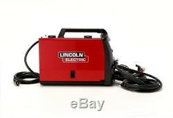 Lincoln Electric Portable Welder 140-Amp Flux-Cored Output 120-Volt Spool Gun